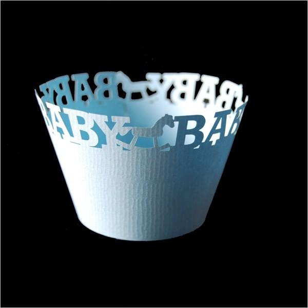 It's a Boy Cupcake Wrapper - 12units/pack